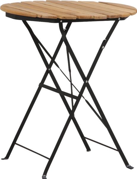 【収納、持ち運びに便利な折畳式】白木材テーブル CF-F-012T