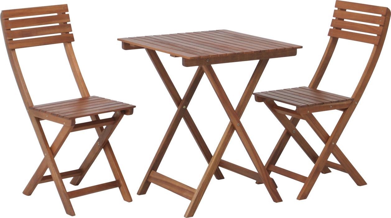 【カフェやガーデンなどで重宝】ガーデン3点セット VFS-GT313SM ブラウン