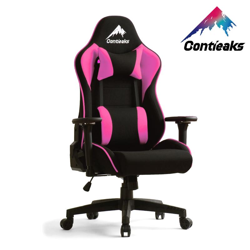 Contieaks コンティークス ゲーミングチェア Rosa ローザ ピンク 4Dアーム