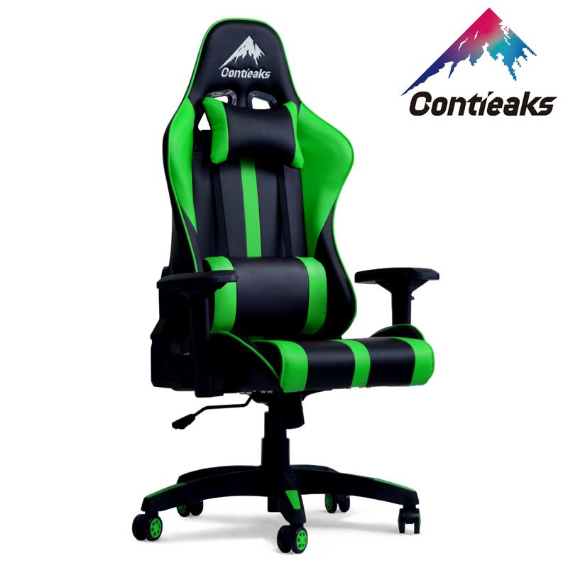 Contieaks コンティークス ゲーミングチェア Roussel ルセル グリーン 4Dアーム