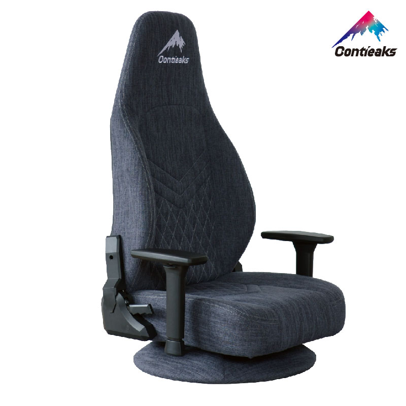 Contieaks Titlis ティトリス・座椅子 グレー ゲーミング座椅子 3Dアームレスト コンティークス