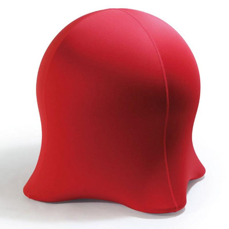 【バランスボールに座ることにより良い姿勢を意識することができるユニークなクラゲ型のデザインチェア】JELLYFISH CHAIR (ジェリーフィッシュチェア) RED WKC102RD