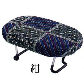 らくらく正座椅子 ワンタッチ型 D-8 紺