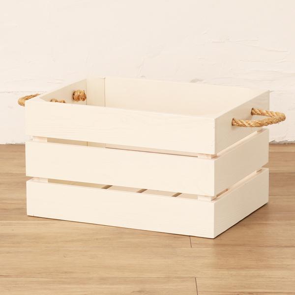 木製 収納ボックス バスケット GK905WW