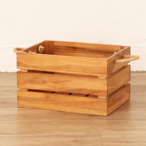 木製 収納ボックス バスケット GK905XP