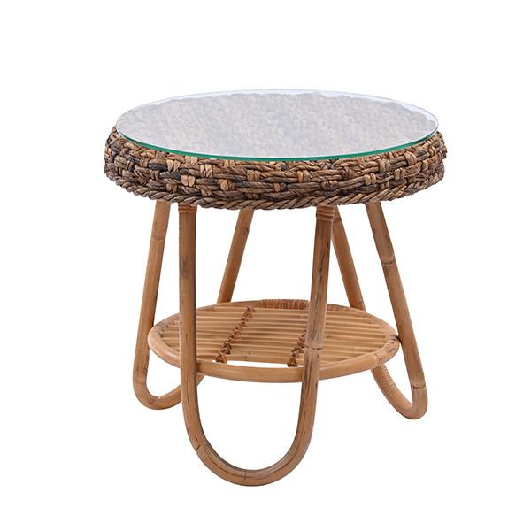 カジュアルハワイアン バナナリーフのサイドテーブル Ohana T040ME