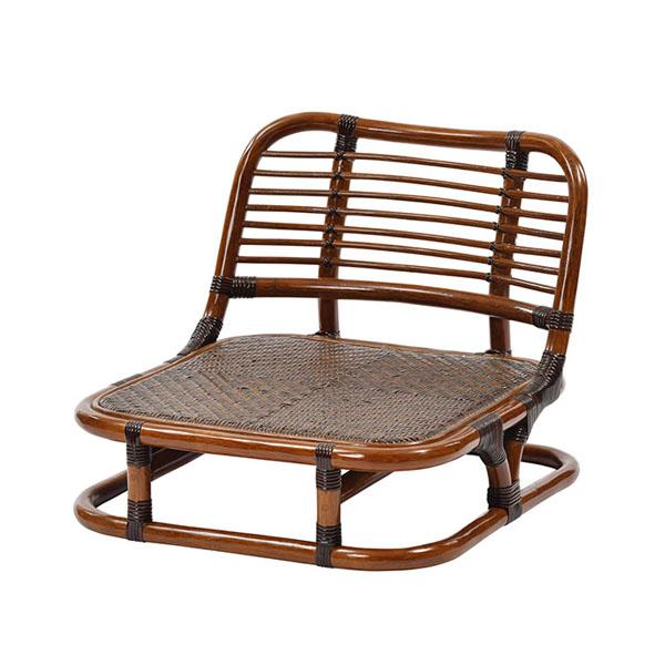 ラタン手編み 座椅子 角型 C020KA