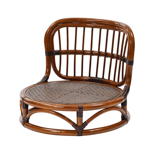 ラタン手編み 座椅子 丸型 C025KA