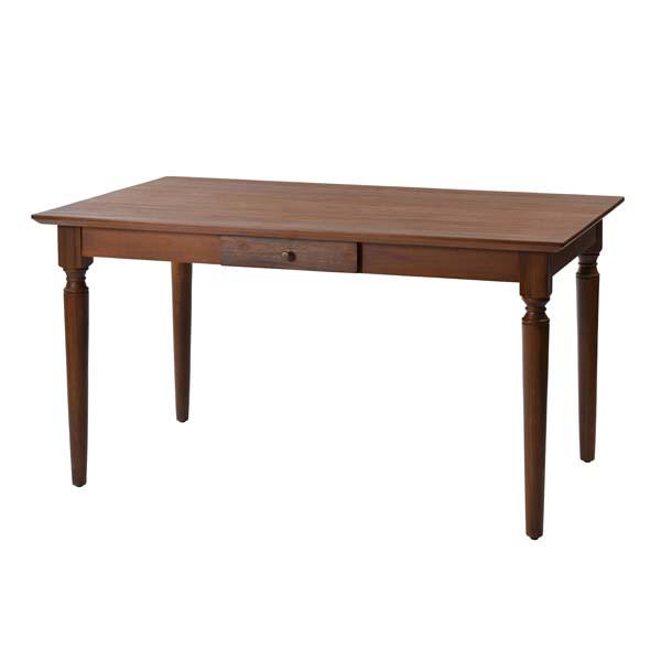 アジアン家具【@CBi(アクビィ)】 チーク無垢材 ダイニングテーブル 135cm幅 ACT450KA