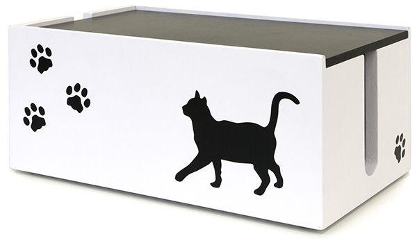 猫のケーブルBOX 小 CTB-151C