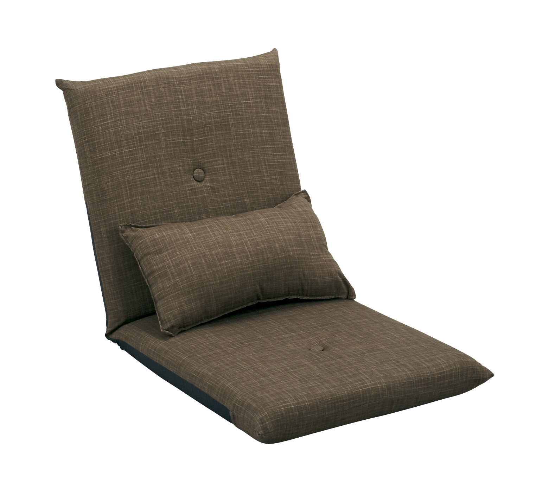 【こだわりの日本製座椅子】クッション付きフロアチェア (YS-541A)