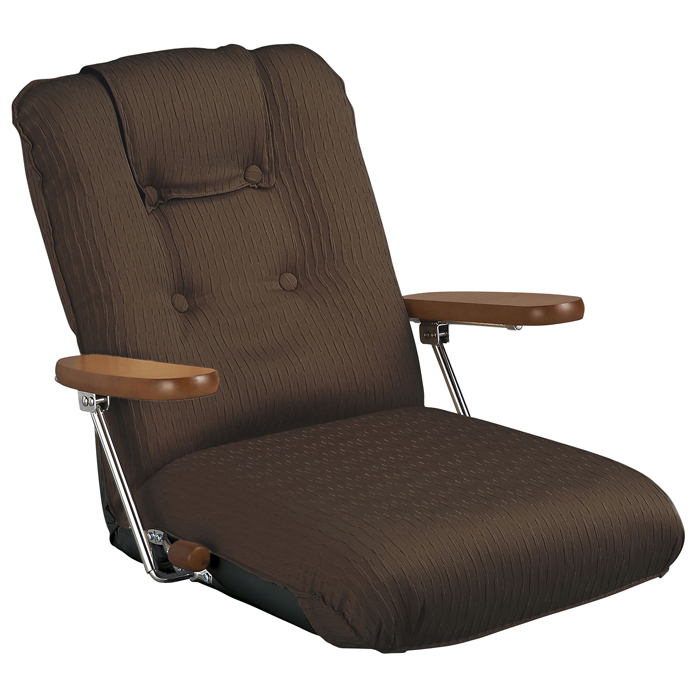 【日本製】ポンプ肘式座椅子 YS-P1075