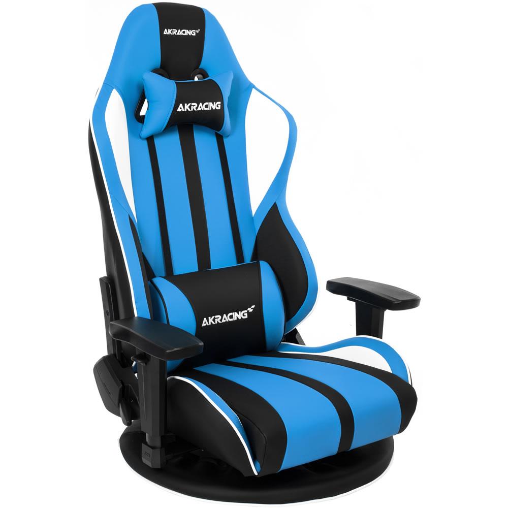 AKRacing 極坐 GYOKUZA V2 ゲーミング座椅子 ブルー