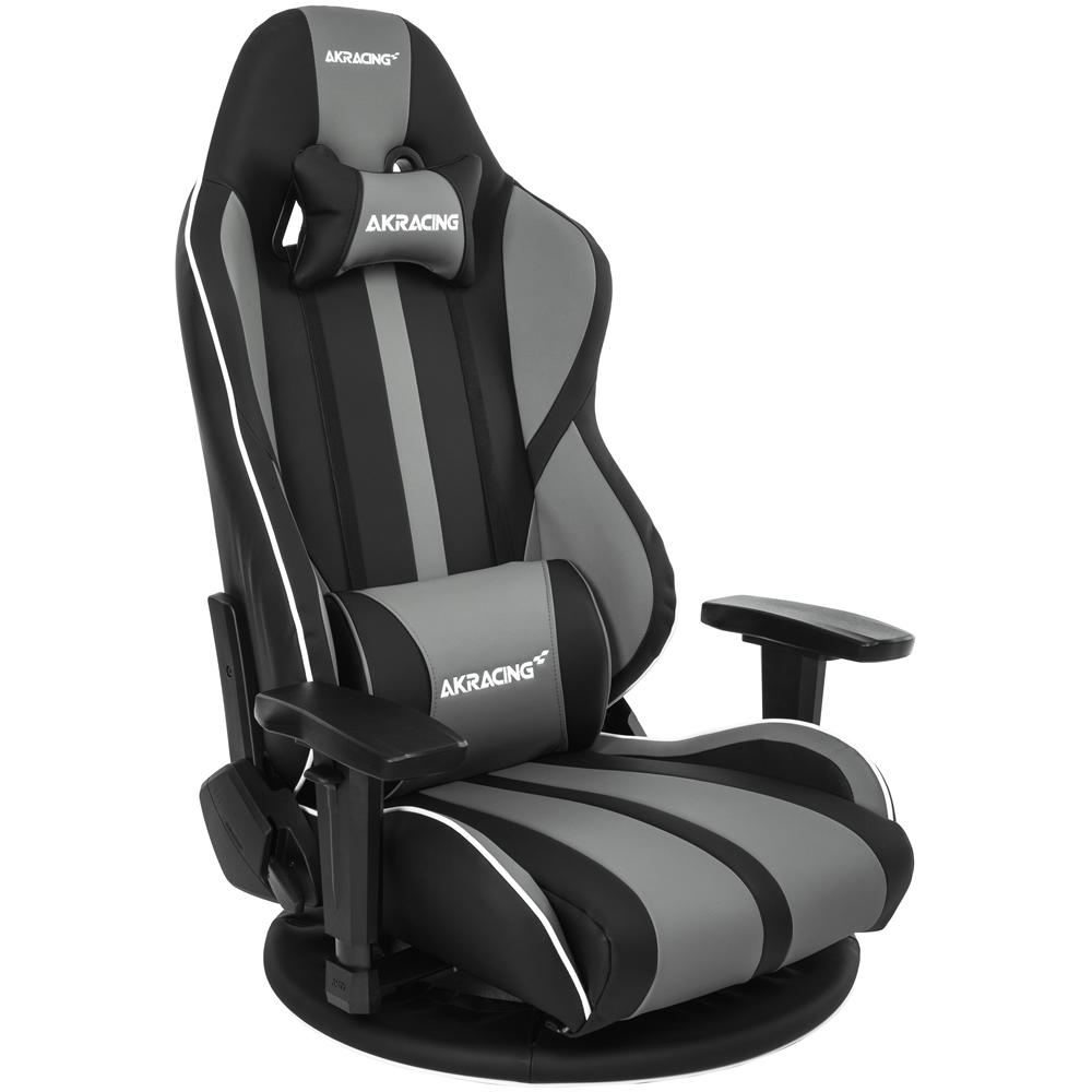AKRacing 極坐 GYOKUZA V2 ゲーミング座椅子 グレー