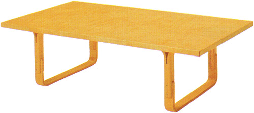 【Mシリーズ 軽快なデザインのセンターテーブル】マルガリータ テーブル M-0251IT-NT