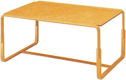 【Mシリーズ 脚部に曲木を使用したオシャレなテーブル】マルガリータ テーブル M-0254IT-NT