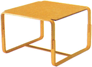 【Mシリーズ 脚部に曲木を使用したオシャレなサイドテーブル】マルガリータ サイドテーブル M-0255IT-NT