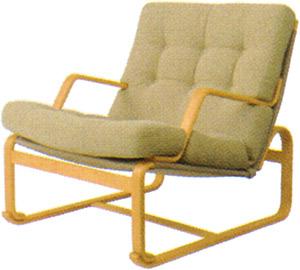 【Mシリーズ やさしい座り心地のイージーチェア】マルガリータ イージーチェア ロータイプ M-0551WB-NT