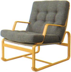 【Mシリーズ 座りやすくて、立ちやすいイージーチェア】マルガリータ イージーチェア ハイタイプ M-0571WB-NT