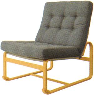 【Mシリーズ 座りやすくて、立ちやすいイージーチェア】マルガリータ イージーチェア ハイタイプ M-0572WB-NT