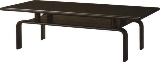 【『黒』を基調に、シックでオシャレなテーブル】ハーモニー テーブル T-6825WB-BX