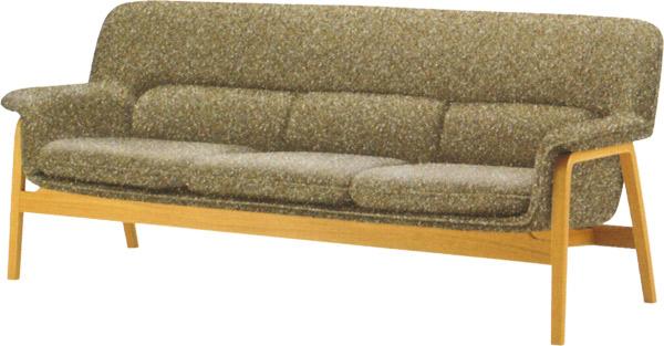 【包み込まれるような、 やさしい座り心地が特徴】チェントロ ソファ T-5452NA-ST