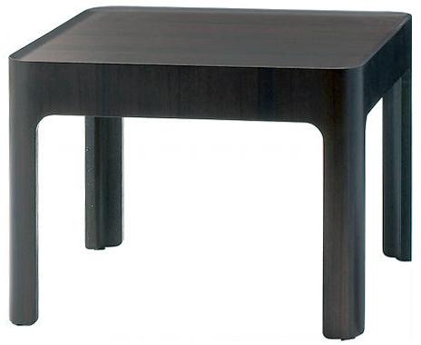 【ローズウッドの美しい木目、深みのある色調が高級感あふれる】ハコ サイドテーブル S-6003RW-ST