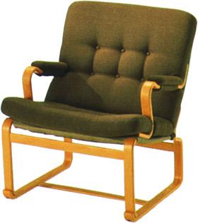 【包まれるような座り心地。安らぎの瞬間】マリアン イージーチェア M-0561WB-NT