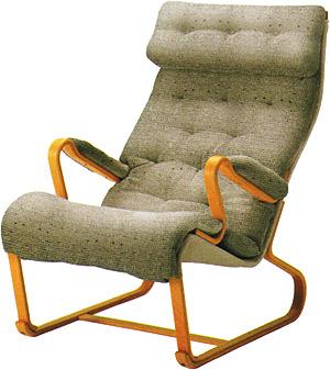 【包まれるような座り心地。安らぎの瞬間】パーニッラ・ジェイ ハイバックチェア M-0562WB-NT