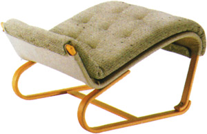【包まれるような座り心地。安らぎの瞬間】パーニラ・ジェイ オットマン M-0563WB-NT
