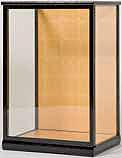 木製人形ケース 日本製 完成品 幅36~38cmタイプ U28 コレクションケース
