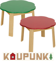 【森の木のような絵になる】Kaupunki カウプンキ テーブル 大和屋 yamatoya ベビー キッズ